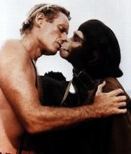 El planeta de los simios / Flag scene / Escena debandera